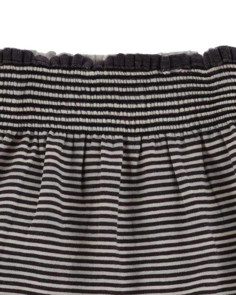 Reversible Stripe Midi Skirt - Turtledovelondon