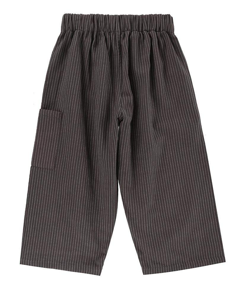 Reversible Stripe Relaxed Trouser - Turtledovelondon