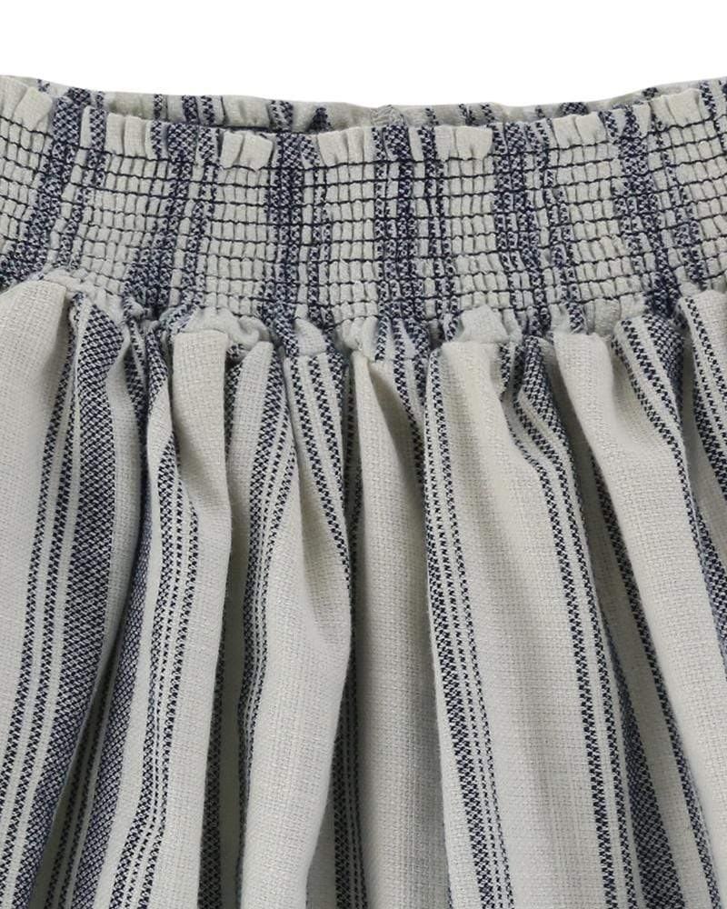 Sea Stripe Skirt - Turtledovelondon