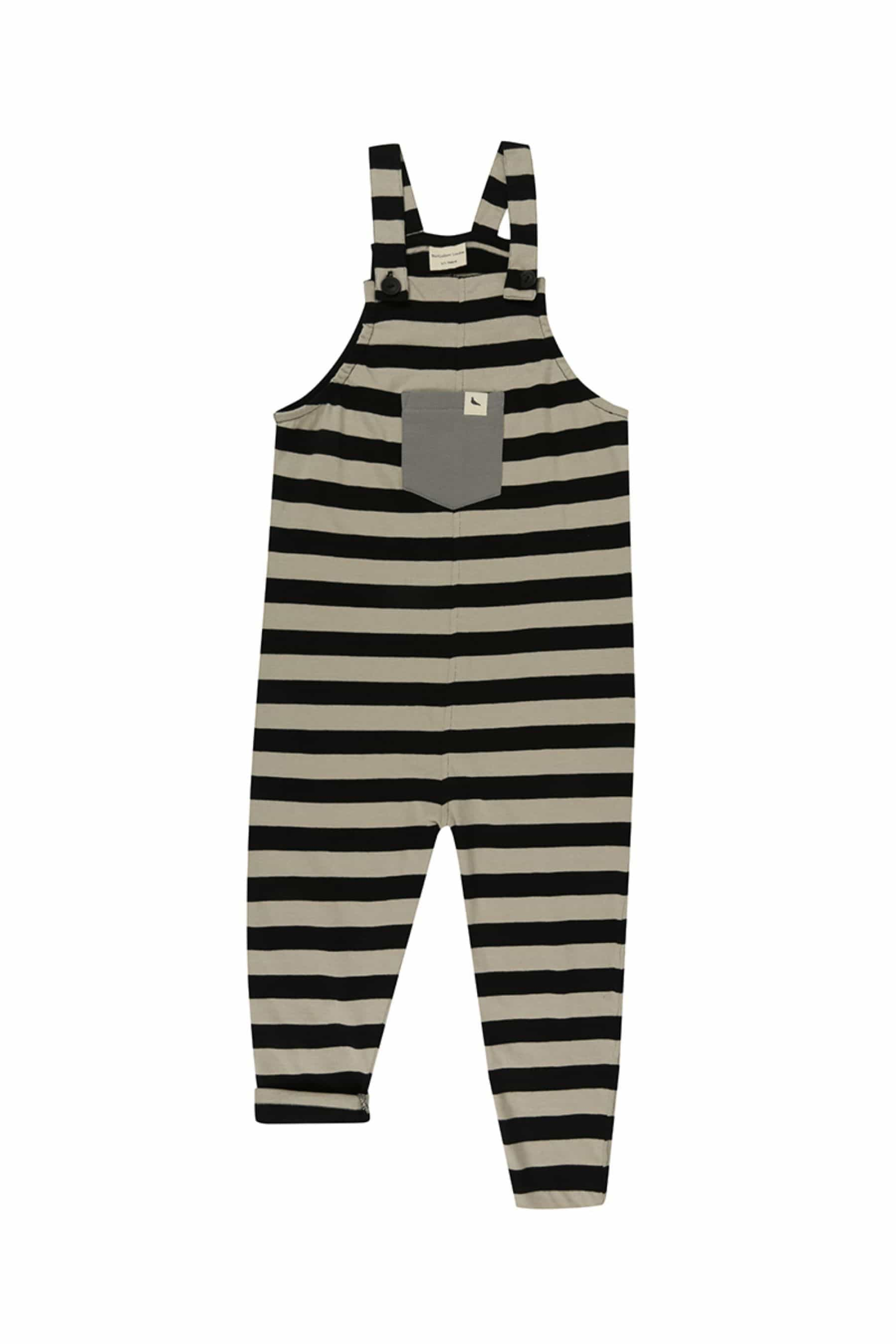 Mono Stripe Easy Fit - Turtledovelondon