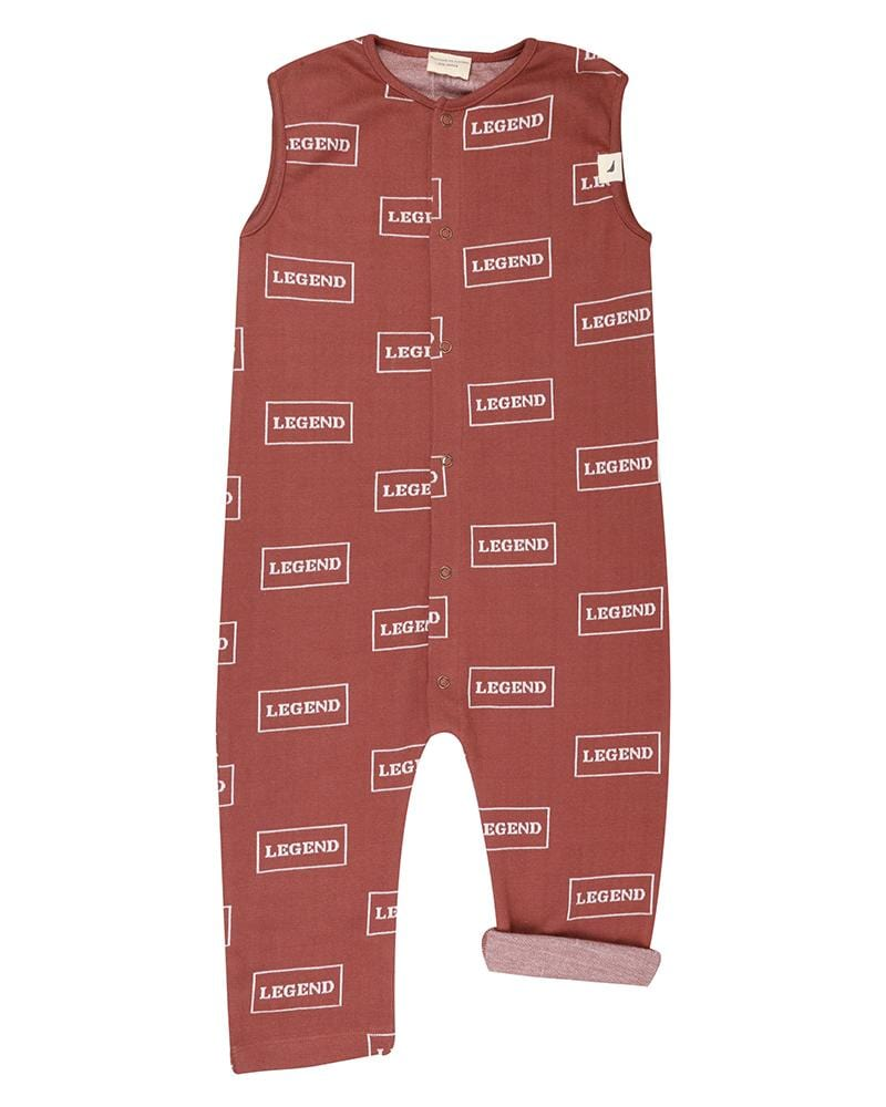 Legend Tank Dungaree - Turtledovelondon