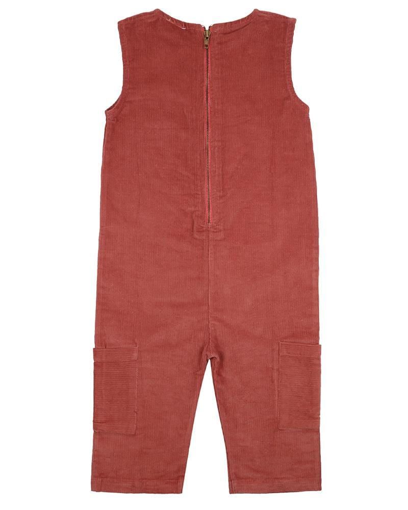 Cropped Cord Dungaree - Turtledovelondon