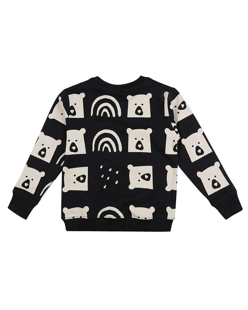 Rain Bear Sweatshirt - Turtledovelondon