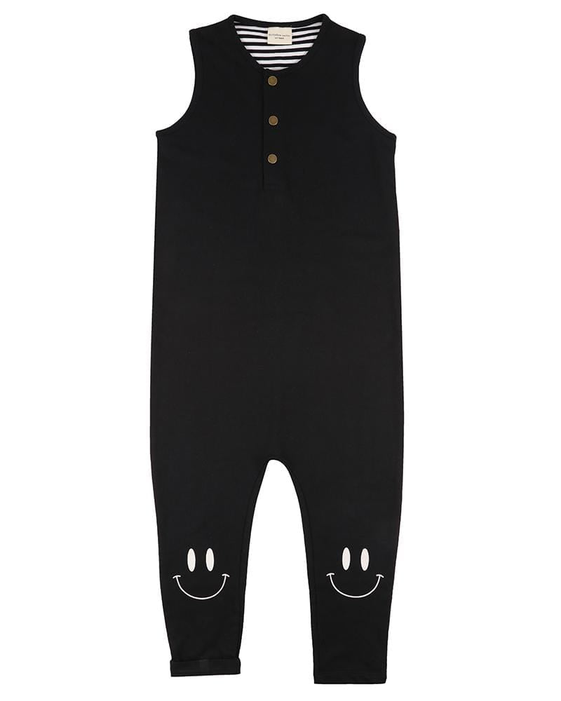 Smiley Knee Tank Dungaree - Turtledovelondon
