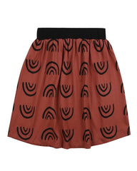 No Rain, No Rainbows Midi Skirt - Turtledovelondon