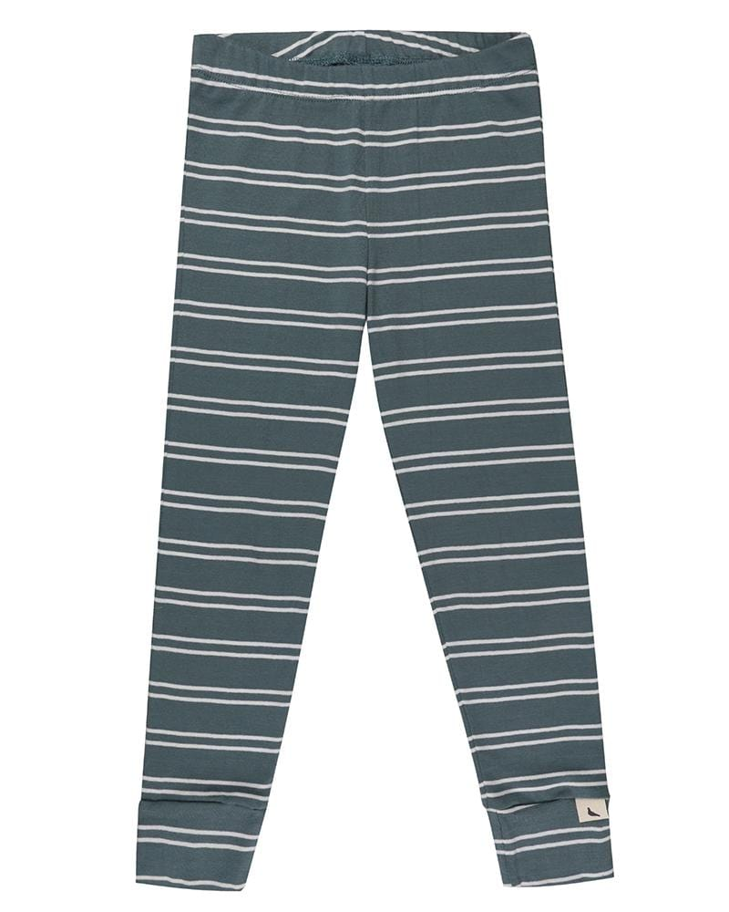 Steel Stripe Leggings - Turtledovelondon