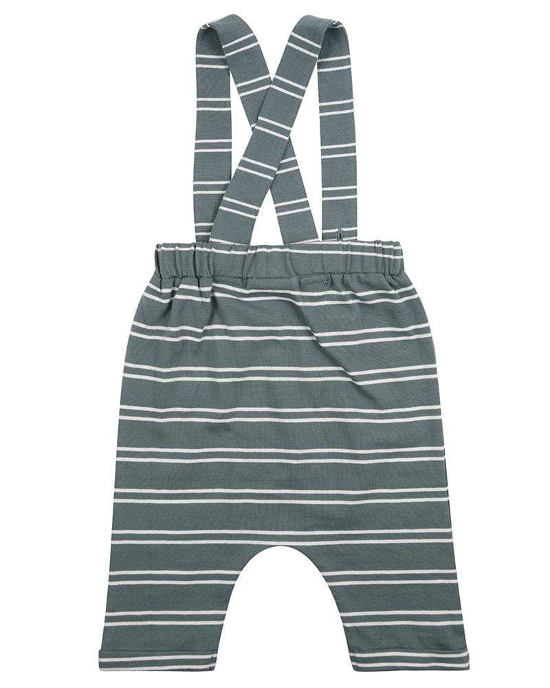 Steel Stripe Bracer Trousers - Turtledovelondon