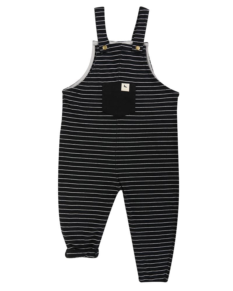 Stripe Easy Fit Dungarees - Turtledovelondon