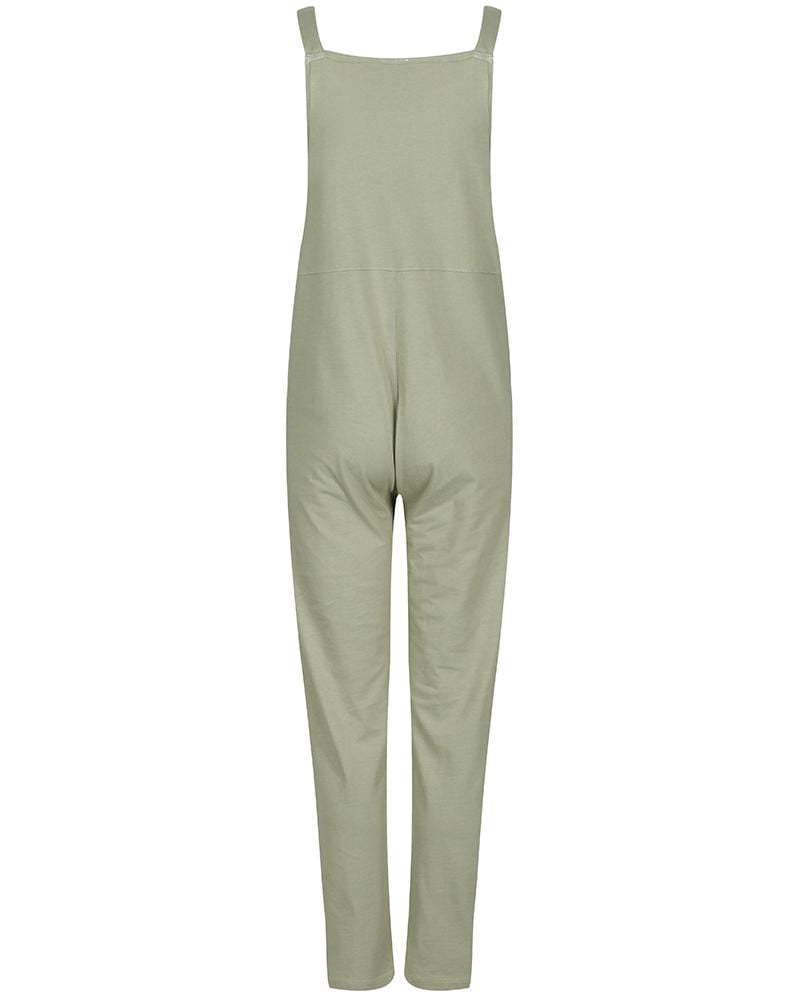 **NEW Mummy + Me Ladies Dungarees Khaki - Turtledovelondon