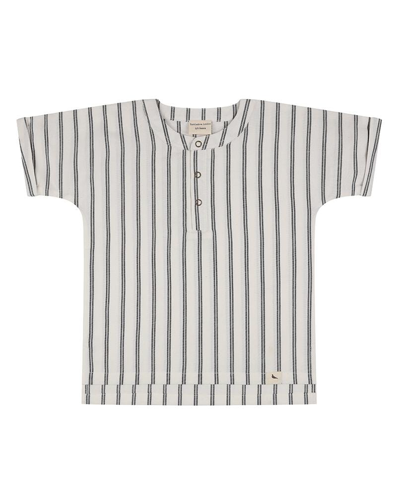Wide Stripe Shirt - Turtledovelondon