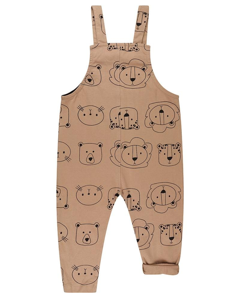 Cub Face Easy Fit Dungarees - Turtledovelondon