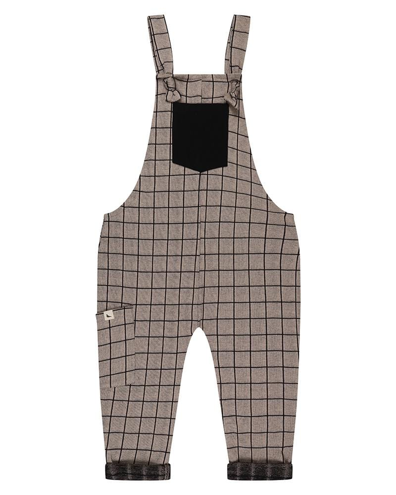 Grid Dungaree - Turtledovelondon