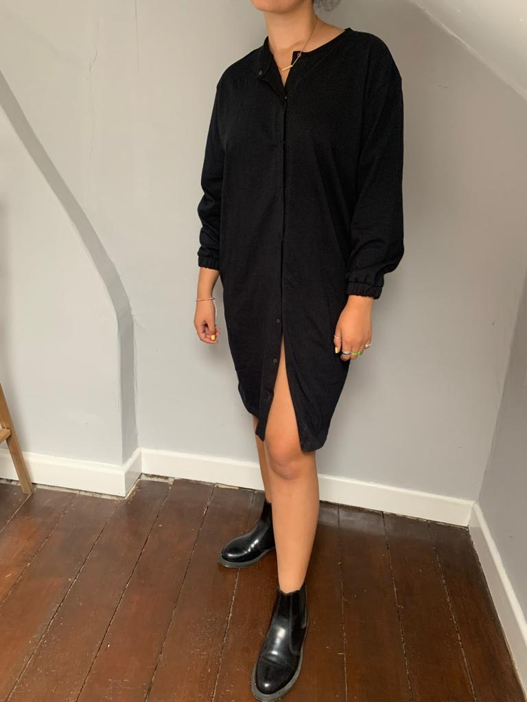 Ladies tunic dress - Black - Turtledovelondon
