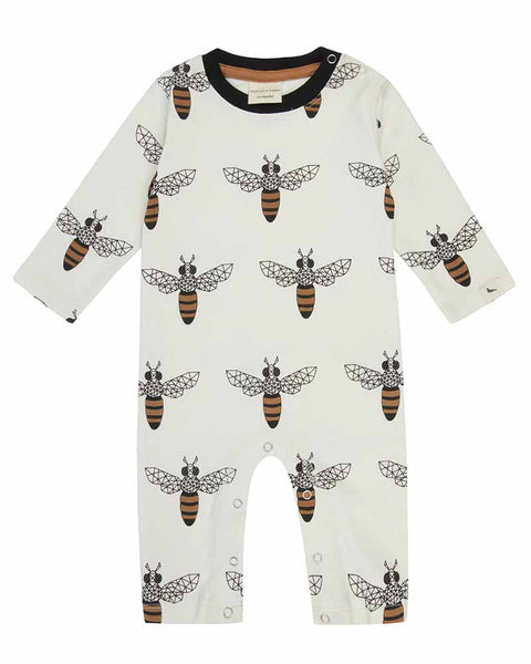 Monochrome Honey Bee Playsuit