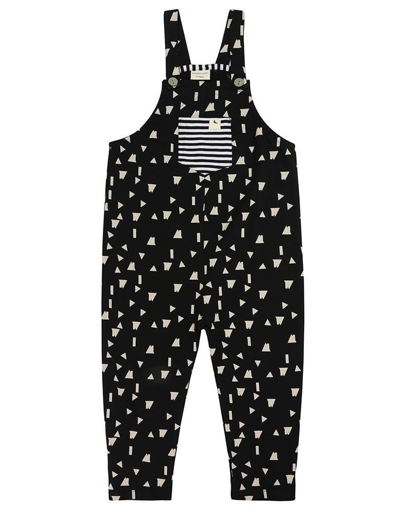 f5a6be20f665 Easy Fit Dungaree- Geo Roof