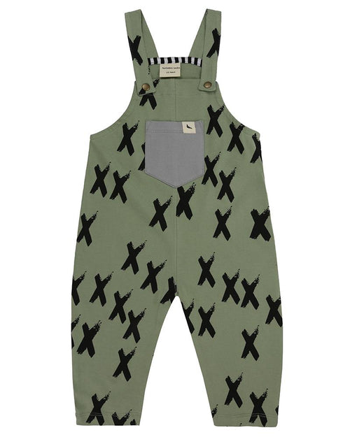 Easy Fit Dungaree- Kisses