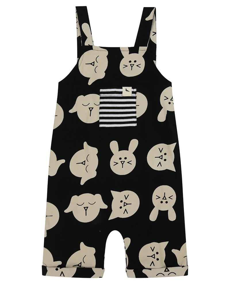 Shortie Dungaree- Pets