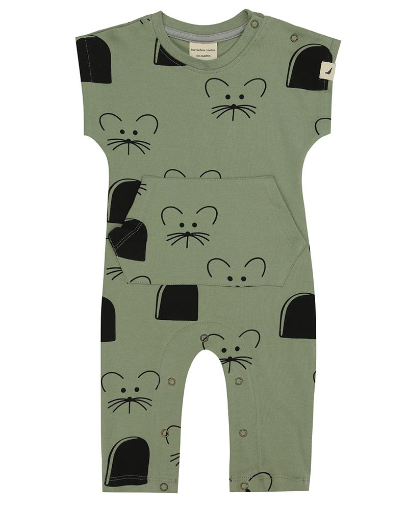 Mouse House Pocket Playsuit