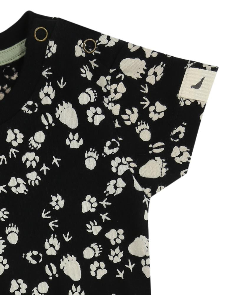 Pawprints Pocket Playsuit