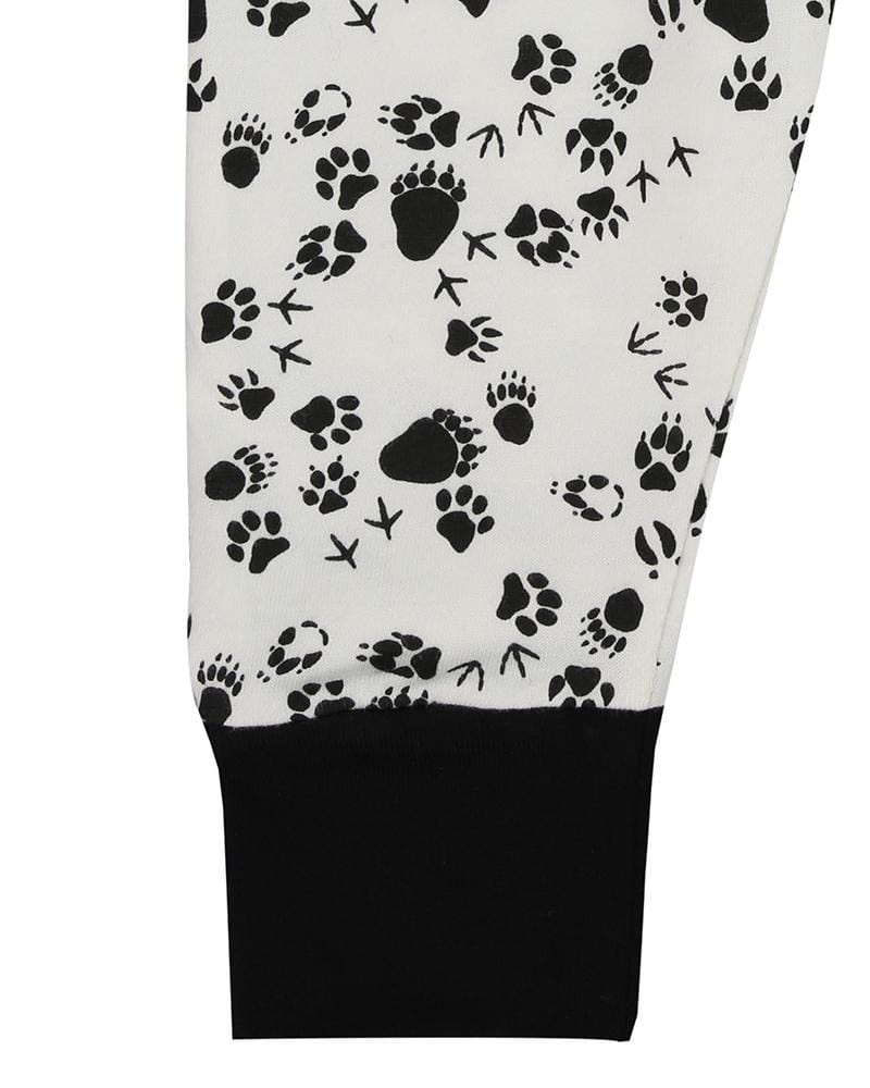 Footprints Leggings - Turtledovelondon