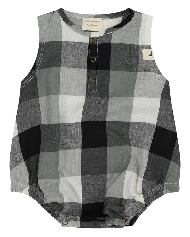 6f72b293c92d Check Bubble Romper – Turtledovelondon