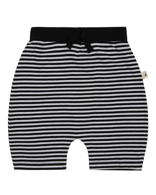 Drop Crotch Shorts- Humbug Stripe