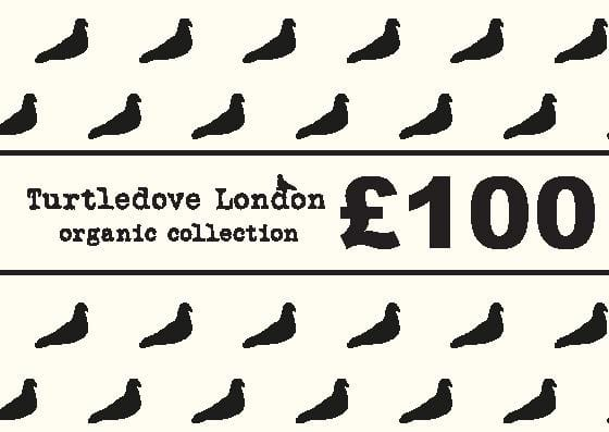 Ì_åÇí«̴å£100 Gift Voucher - Turtledovelondon