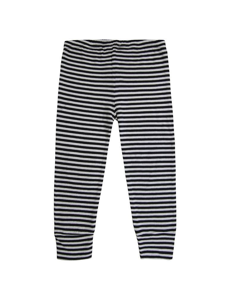 Monochrome Humbug Stripe Leggings