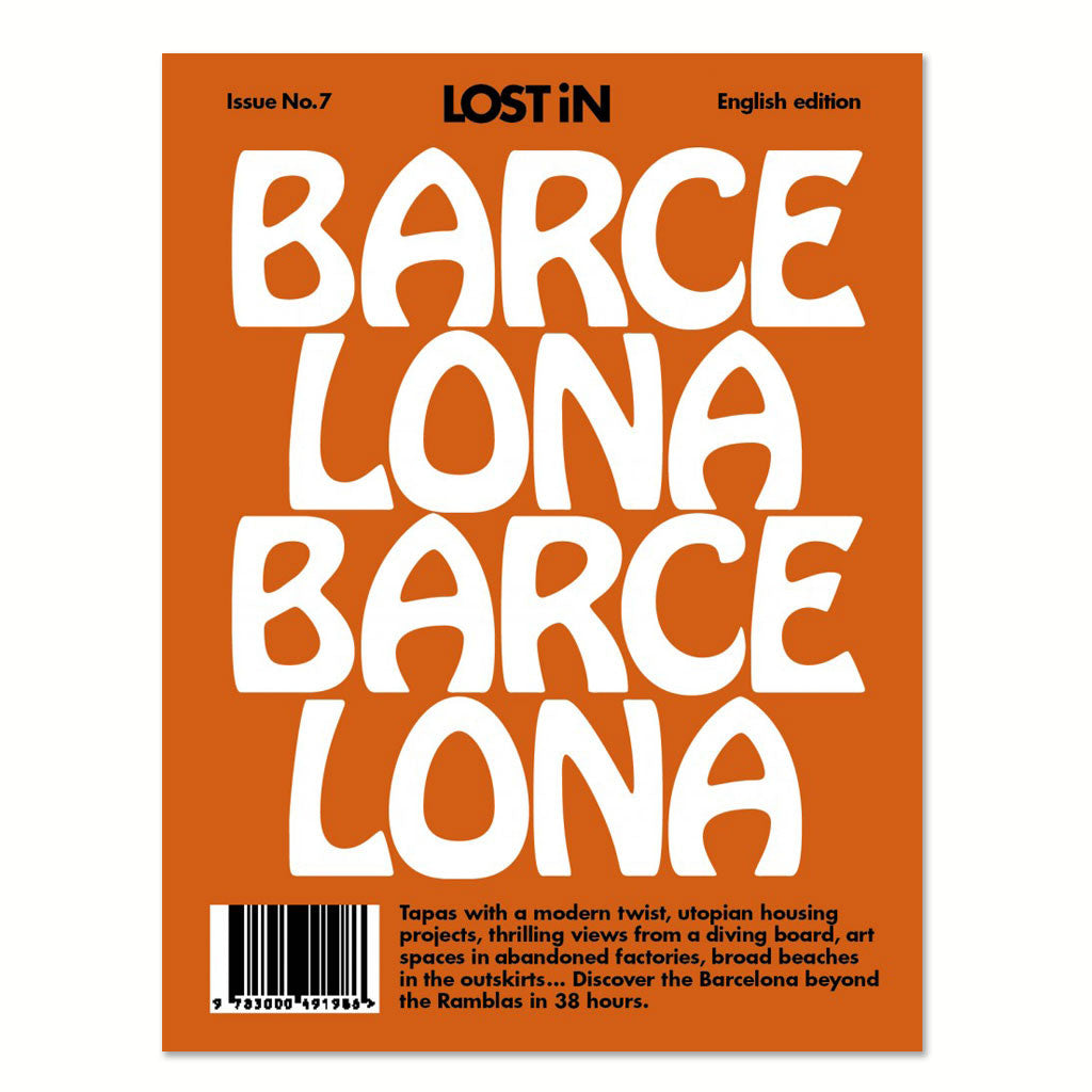 Lost in Barcelona front cover