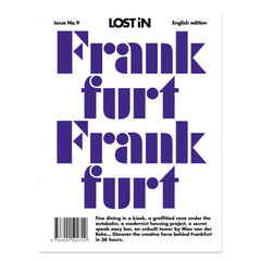 Lost in Frankfurt front cover