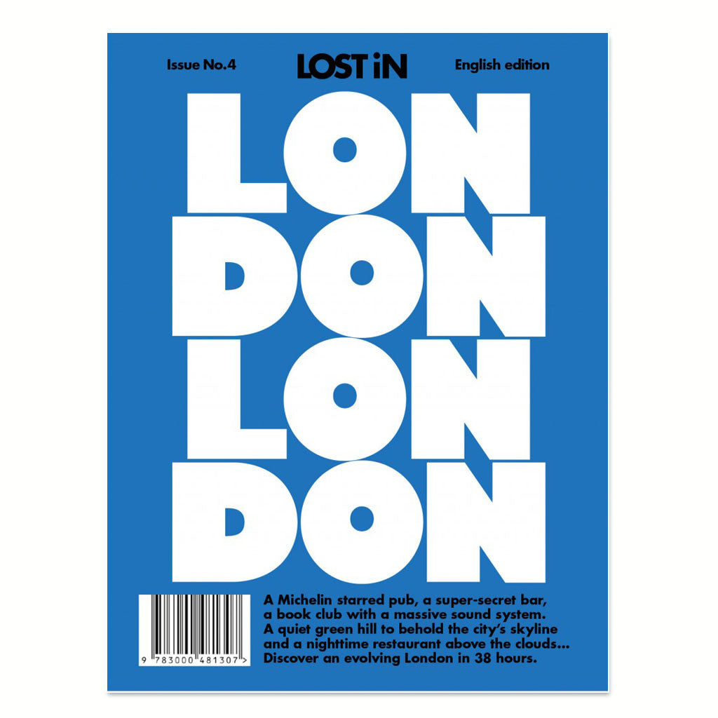 Lost in London front cover