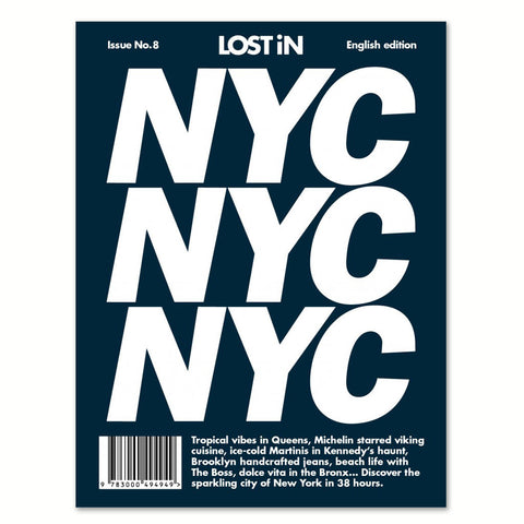 Lost in NYC front cover