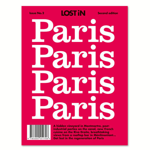 Lost in Paris front cover