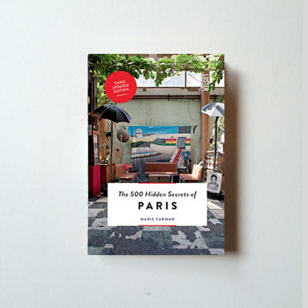 500 Hidden Secrets of Paris front cover