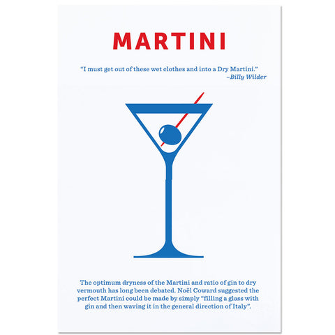 Crispin Finn Martini screen print