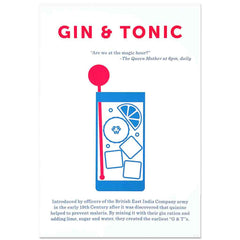 Crispin Finn Gin & Tonic screen print