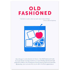 Crispin Finn Old Fashioned screen print