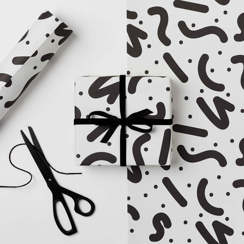 Wiggle Pattern Wrapping Paper