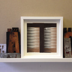 Style shot of framed Tango T print