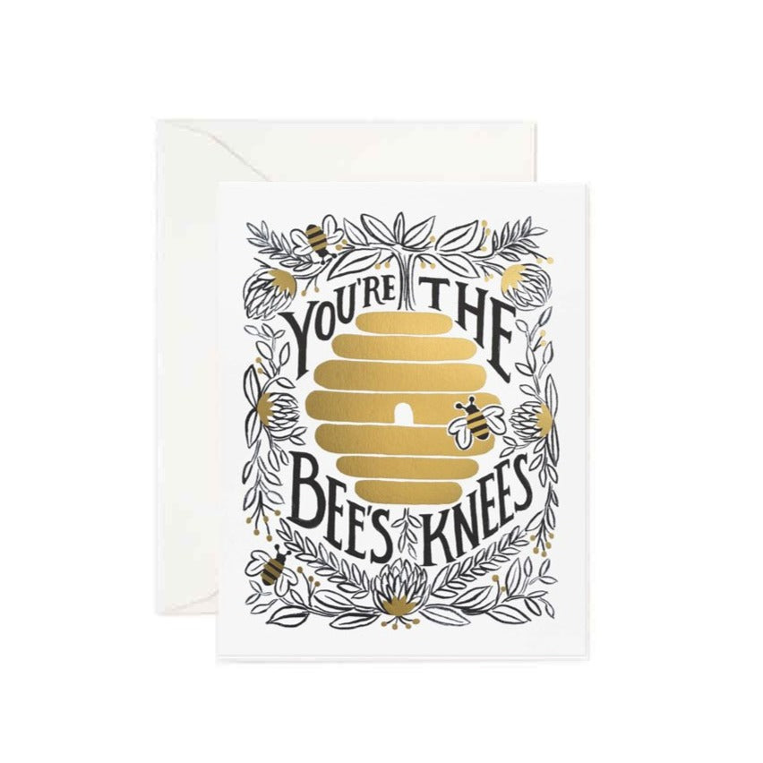 You're the Bees Knees Greetings Card