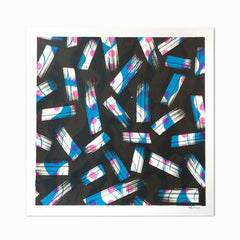 Malissa Brown Brush screen print no.5