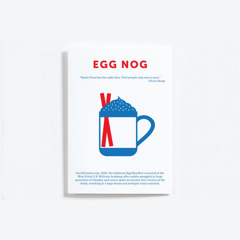 Crispin Finn Egg Nog Christmas Card
