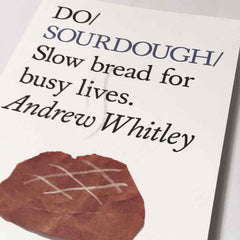 Angled close up of Do Sourdough front cover
