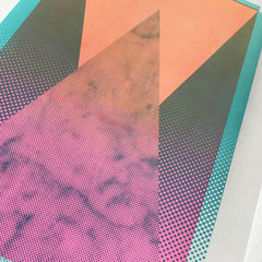 Pyramid A3 Screen Print