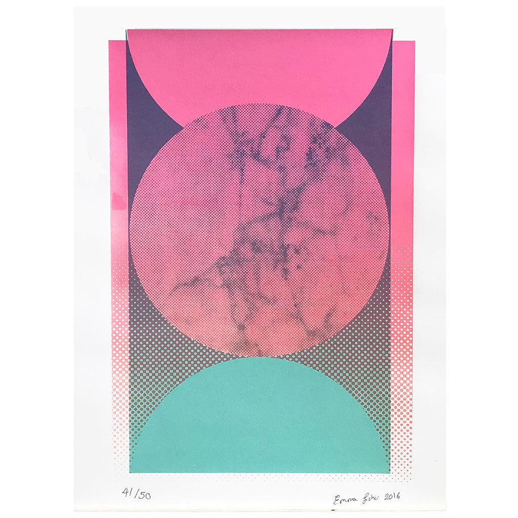 Sphere A3 Screen Print