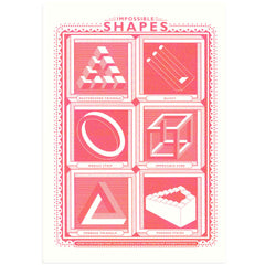 Impossible Shapes Art Print