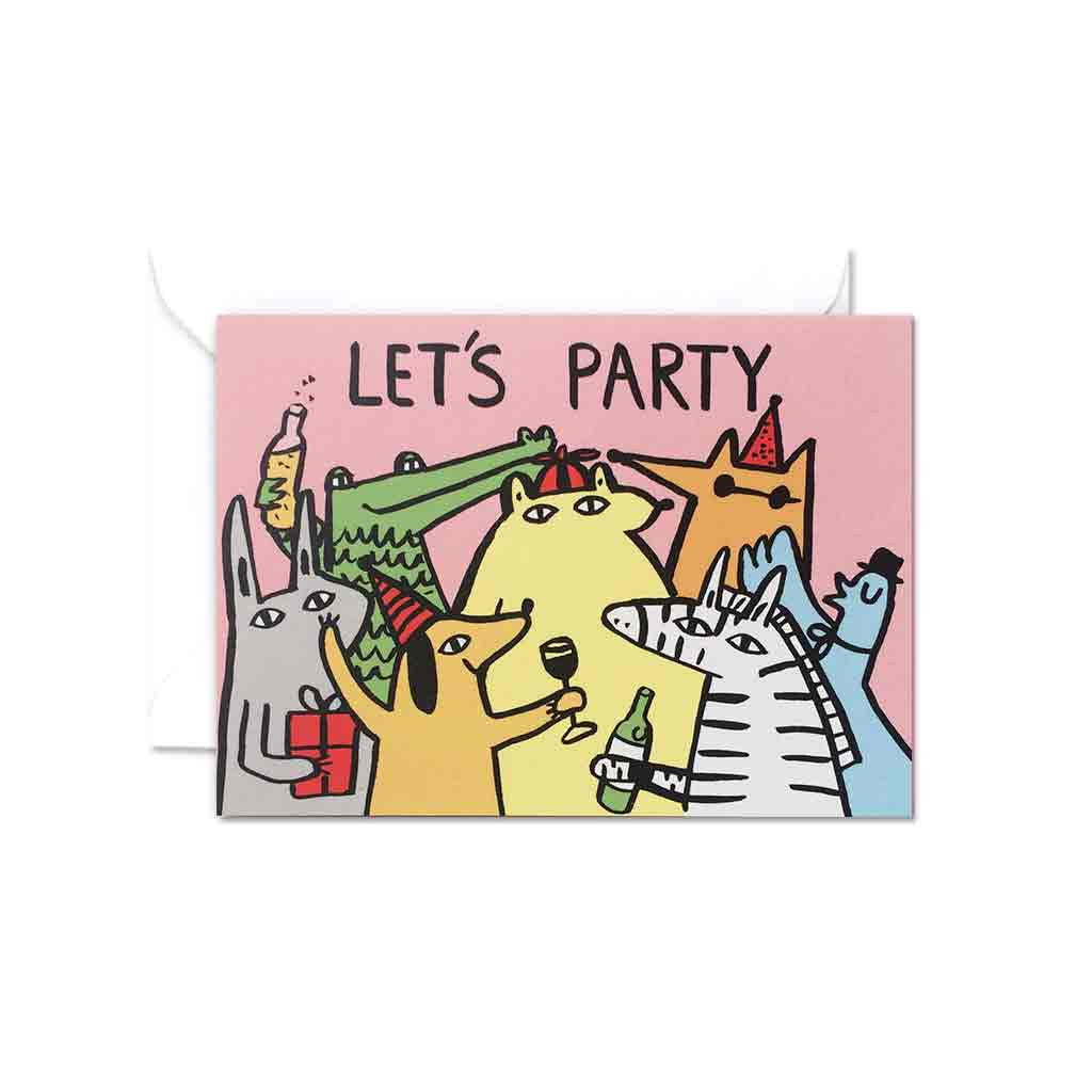 Wrap Let's Party gift card