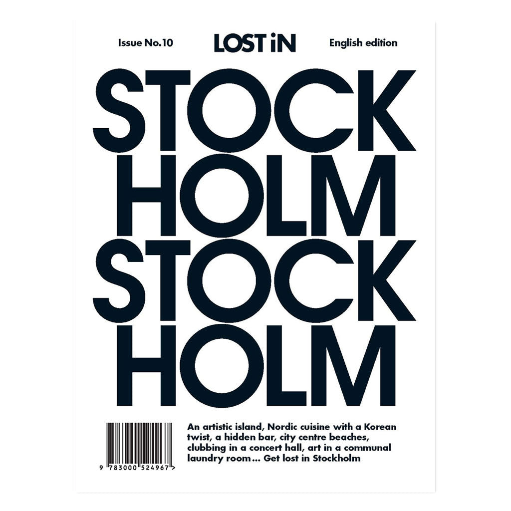 Lost in Stockholm front cover