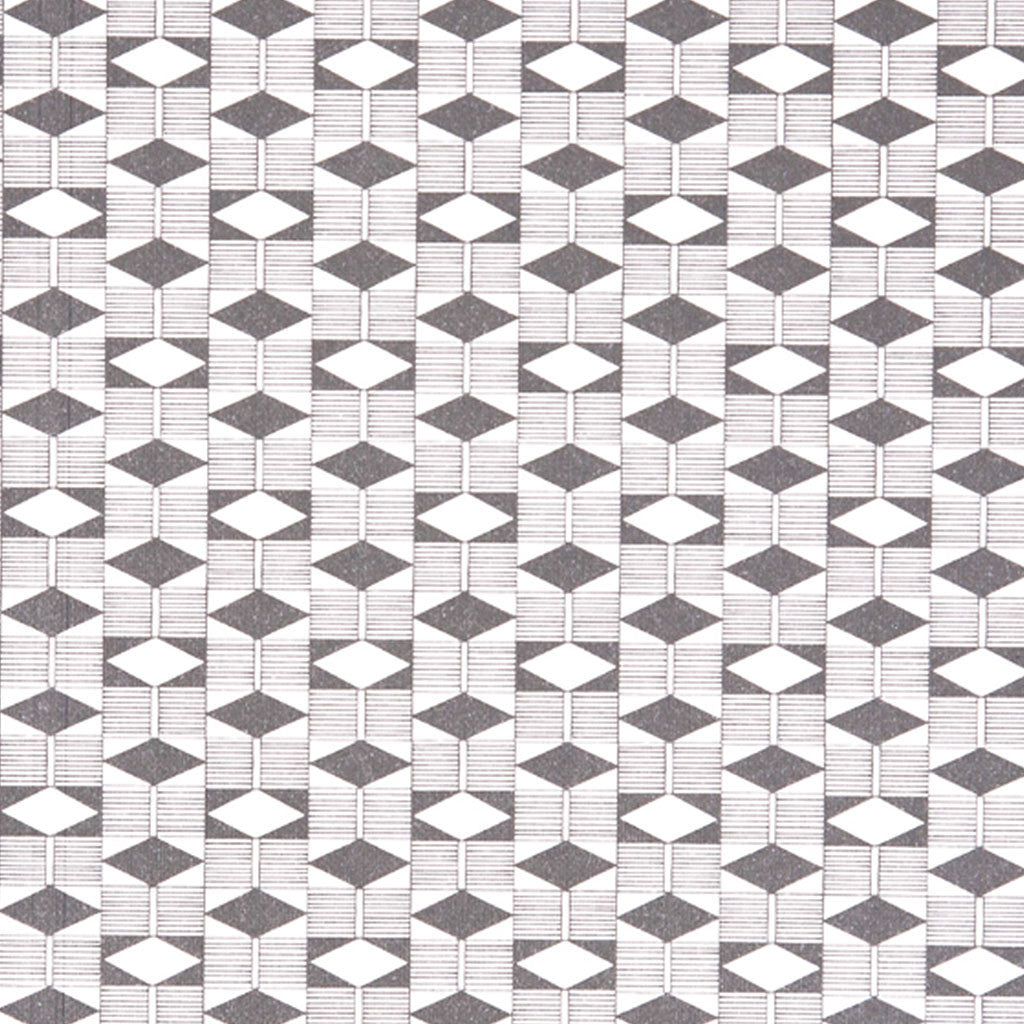 Ola Diamond print grey close up