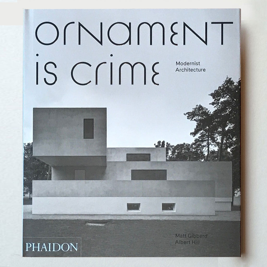 Ornament is crime cover img 9780714874166